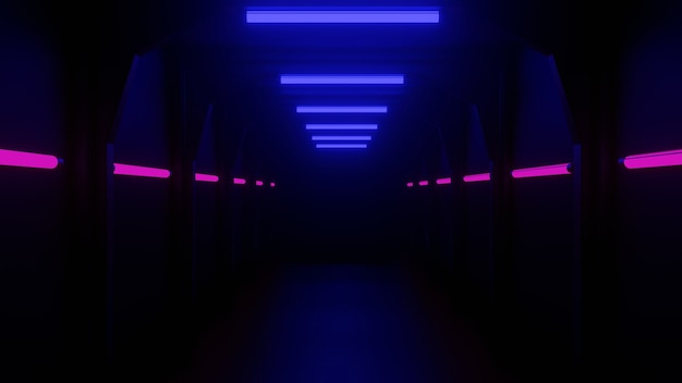 トンネル、ネオンライト、ピンクライト、ライトブルー、プレミアムルックがカバーデザインに使用できます。アイデアを促進するために使用できます