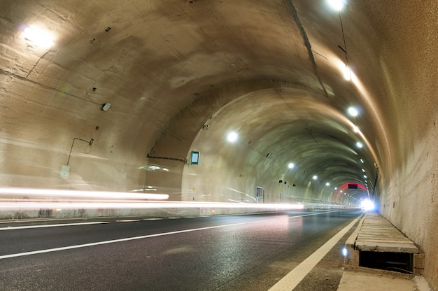 Tunnels and car