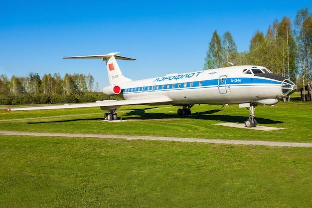 The tupolev tu-134 aircraft