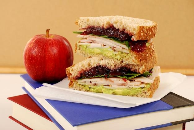 Турция и бутерброд варенье для зарядки аккумуляторов Бесплатные Фотографии