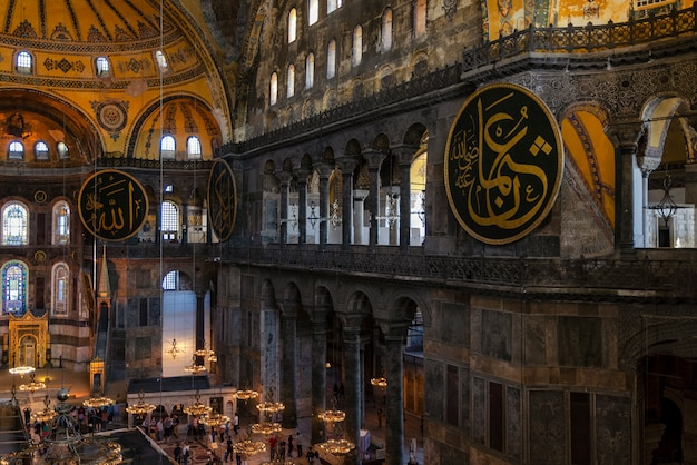 Turkey. hagia sophia is the greatest monument of byzantine culture.