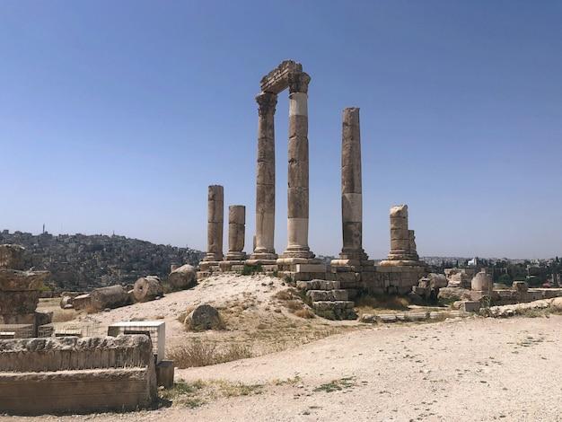 Turkey, side. ancient acropolis