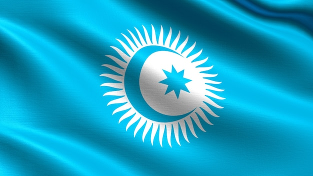 Turkic council flag