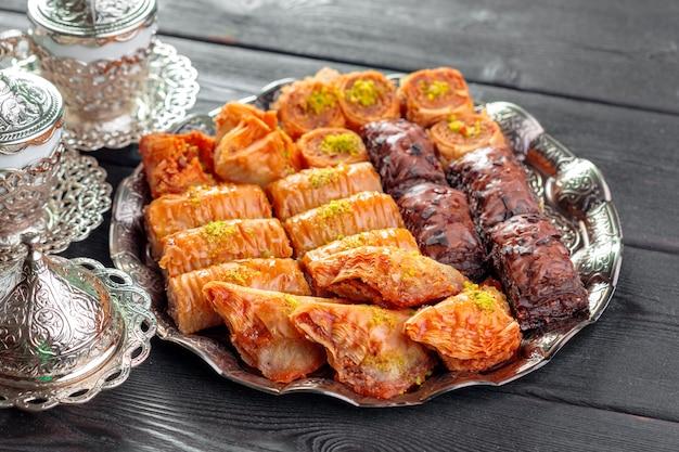 Turkish dessert baklava