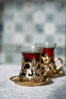 터키 차와 과자