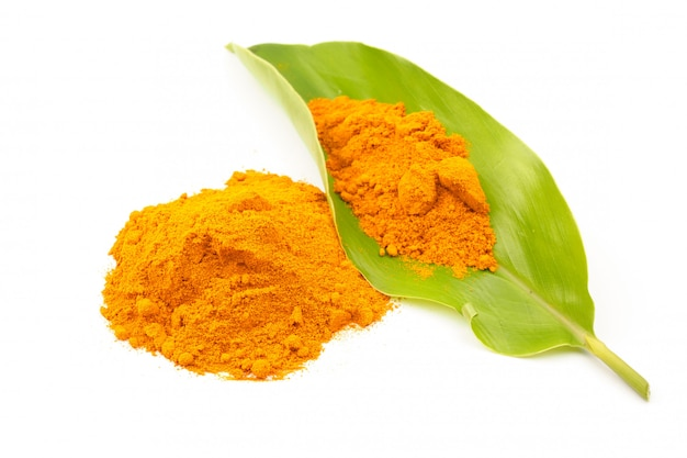 Turmeric powder (curcuma) herbal