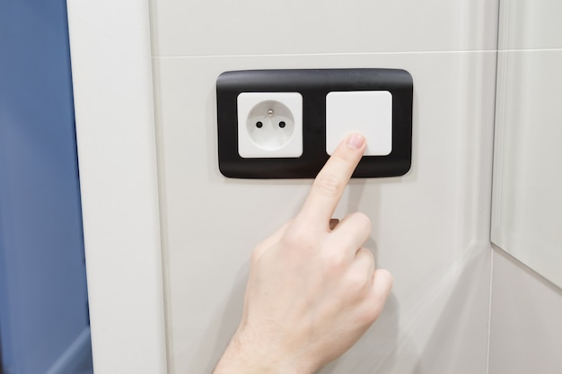 Turn off light switch