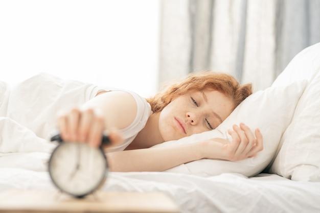 Turning off the alarm