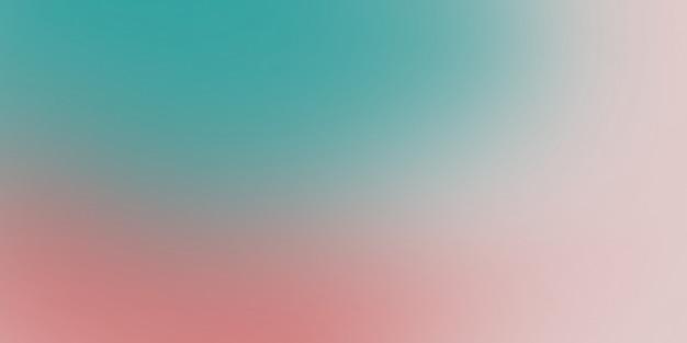 ターコイズとピンク色の柔らかい抽象的なグラデーション