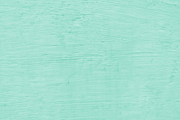 Turquoise empty concrete wall texture background
