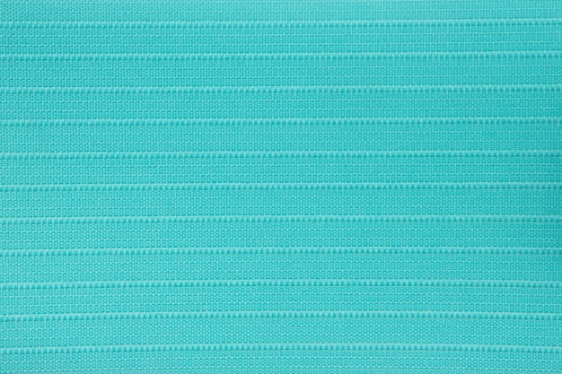 Turquoise fabric blind curtain texture