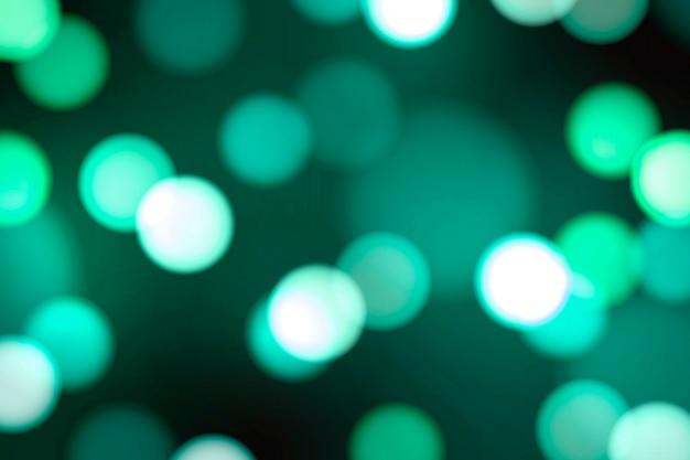 Бирюзовый зеленый боке узорчатый фон