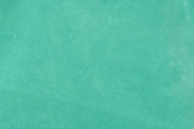 Бирюзовый текстурированный кожаный фон замши поверхности