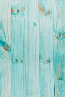 Turquoise wooden textured plank