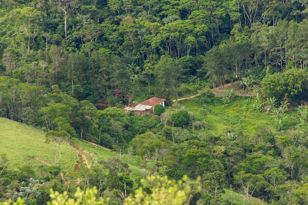 Of the turtle stone trail in teresópolis