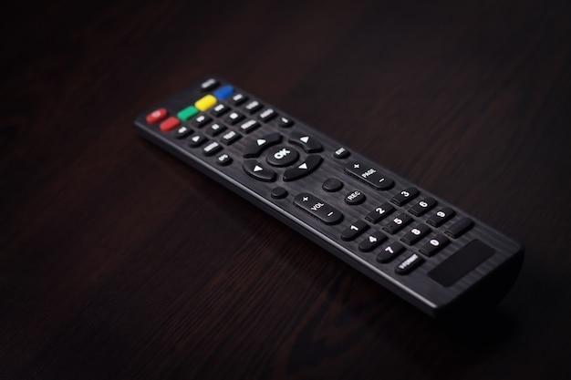 テレビのリモコン。