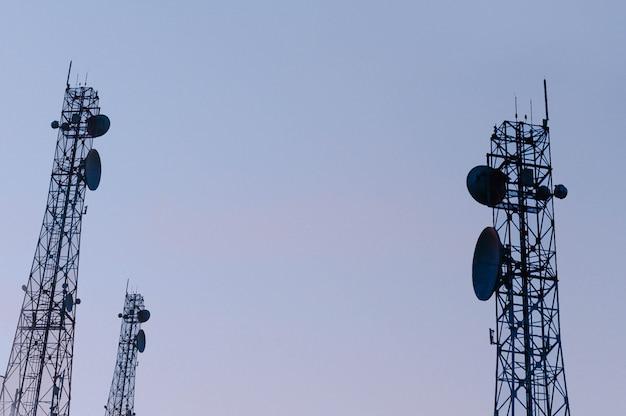 通信マストtvアンテナワイヤレステクノロジー