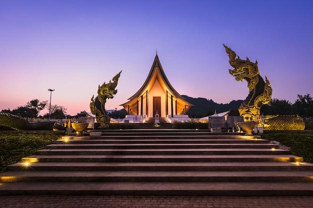 Twilight landscape measure in thailand
