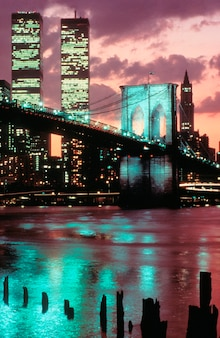 Twin towers, world trade center, new york
