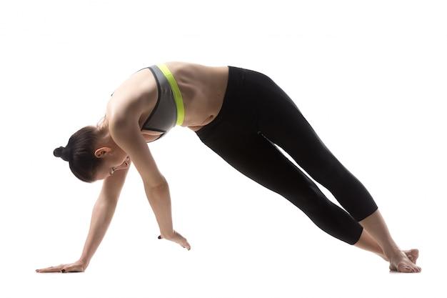 Twist pilates exercise