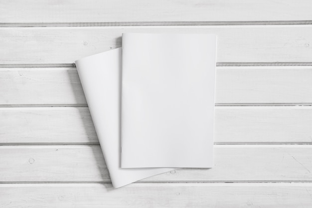 Two business brochures
