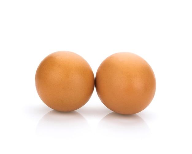 2つの鶏卵分離