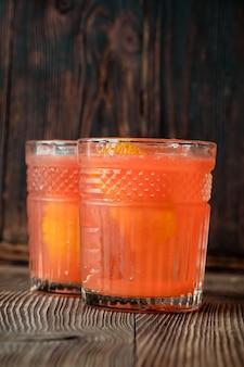 オレンジブロッサムカクテル2杯