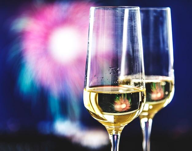スパークリングワイン2杯