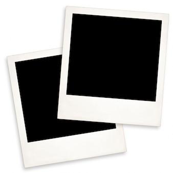Two old polaroid