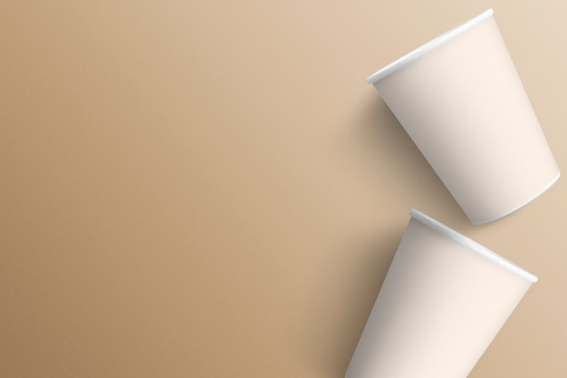 Due paperc up su sfondo minimal