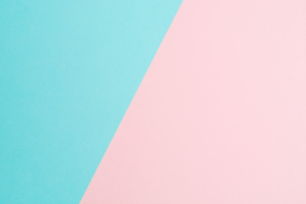 Two pastel colorful paper abstract background