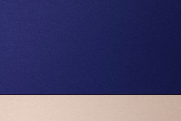 Two tones product background with blue and beige