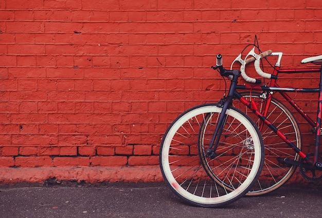2つのビンテージ自転車