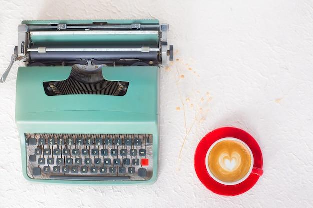 Typewriter cafe