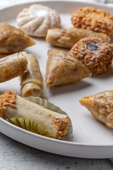 Typical arabic sweets. homemade