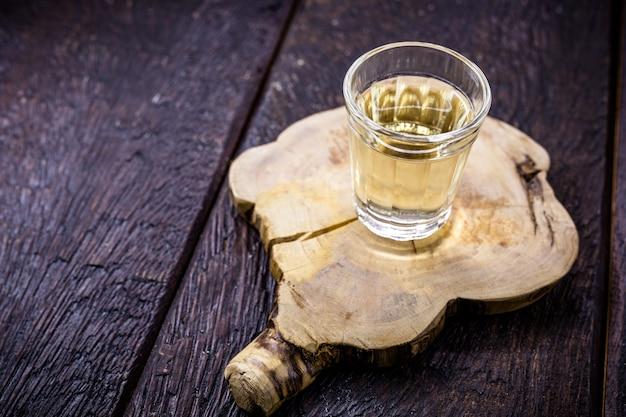 Typical brazilian brandy glass, called