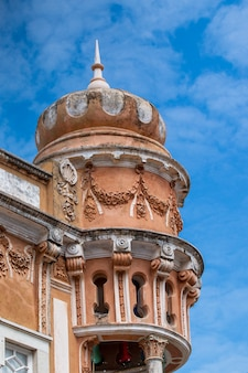 ポルトガルの都市の典型的な建物