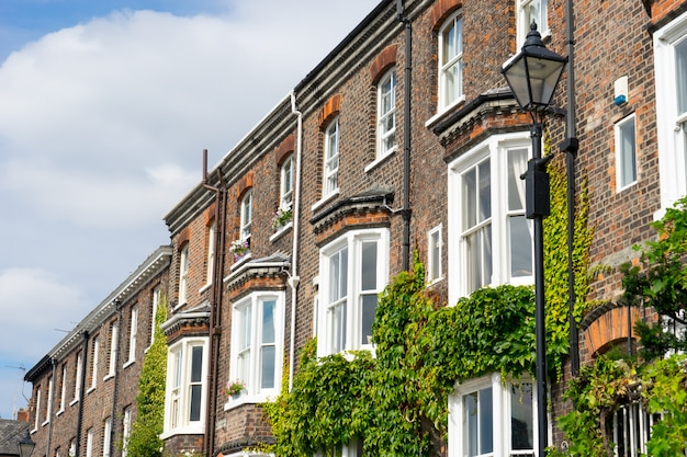 Typical english & british style building, uk
