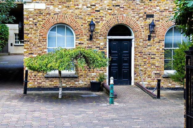 Typical english house, london city