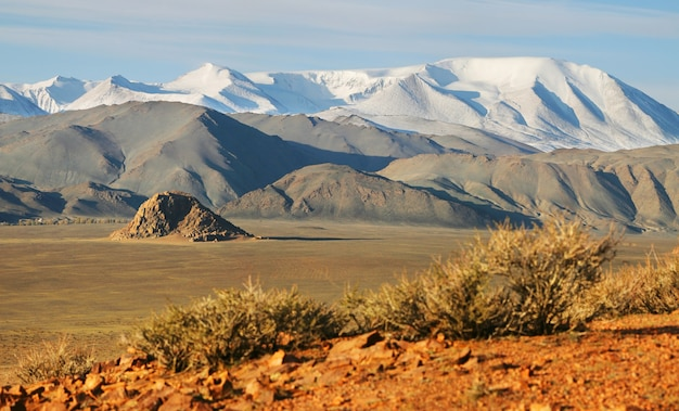 Typical landscapes of mongolia