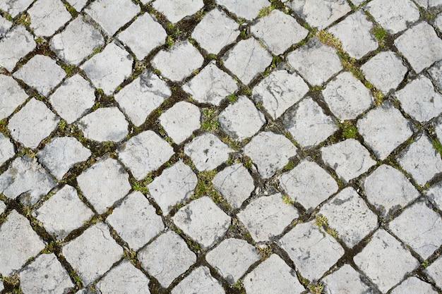典型的なポルトガルの石畳