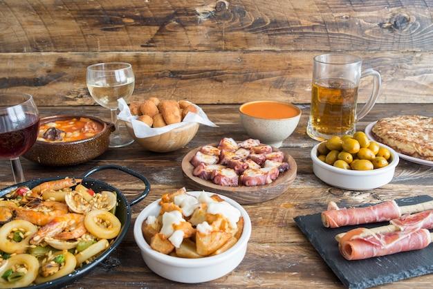 Типичная испанская еда