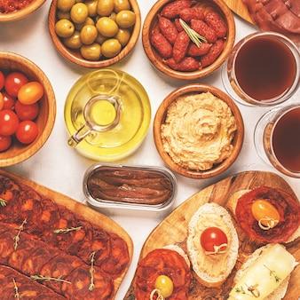 Типичная концепция испанских тапас.