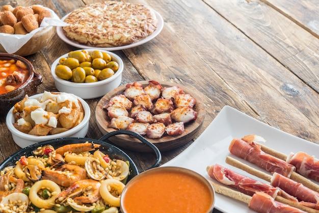 Типичные тапас в испании