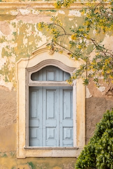 Typical window of portuguese houses