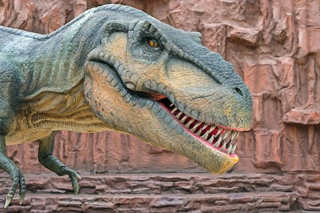 Tyrannosaurus is a genus of coelurosaurian theropod dinosaur.