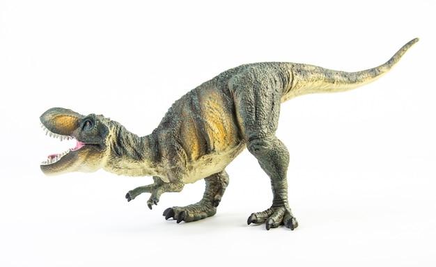Тиранозавр t-rex, изолированный динозавр