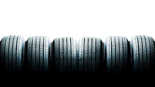 Tyre close up Premium Photo