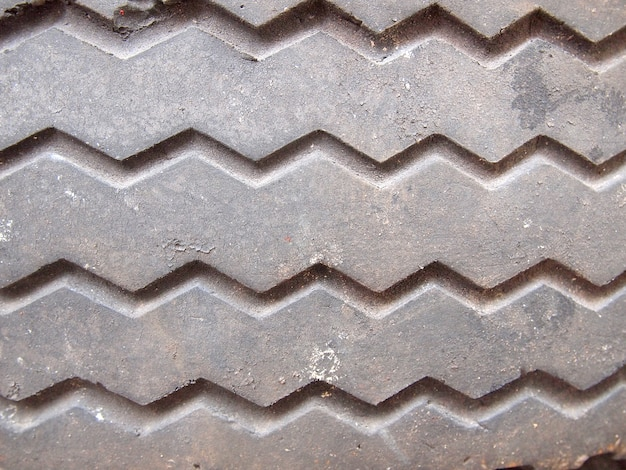 Tyre texture closeup