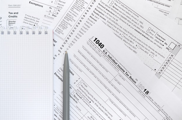 U.s. individual income tax return
